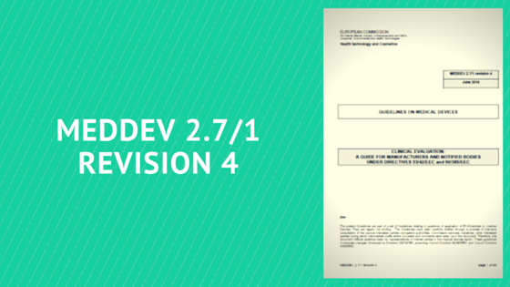 MEDDEV 2.7./1 revision 4